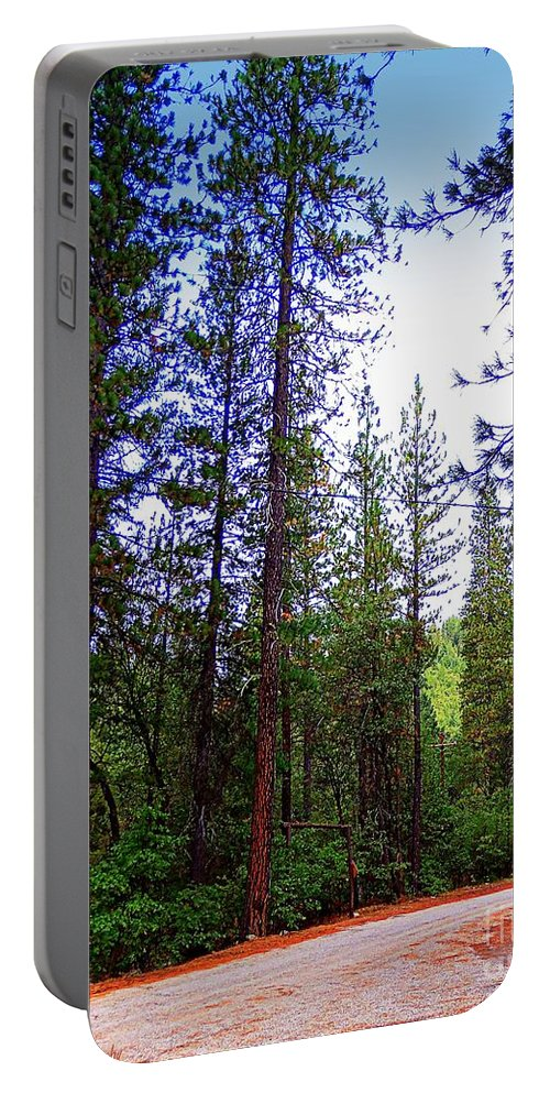 Acrylic Prints Portable Battery Charger featuring the photograph The Road Less Traveled by Bobbee Rickard