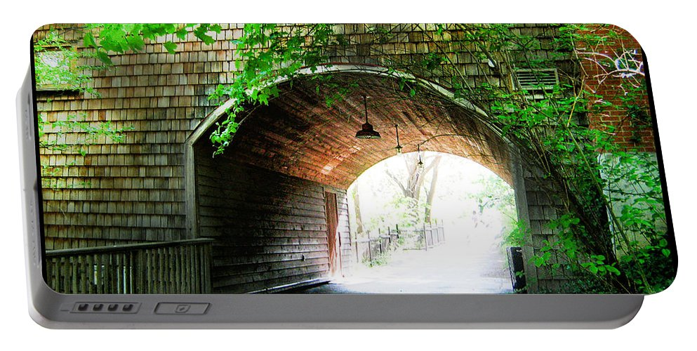 Shawn Portable Battery Charger featuring the photograph The Road To Beyond by Shawn Dall