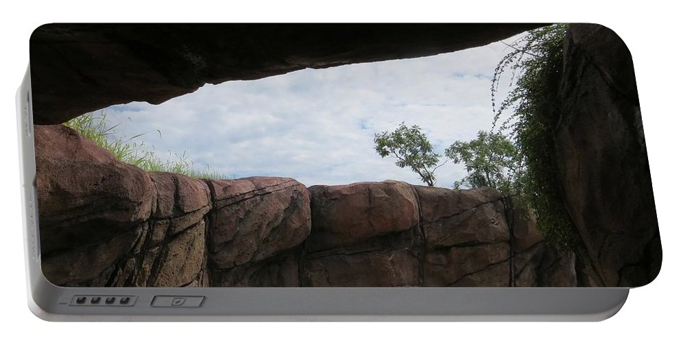 Landscape Portable Battery Charger featuring the photograph The Rocky Angle by Sonali Gangane