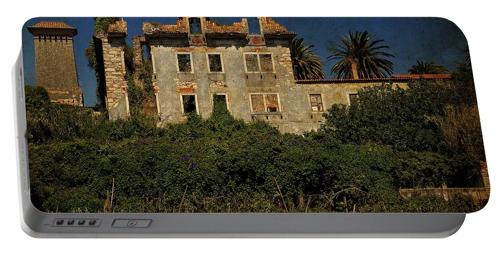 The Ruins Portable Battery Charger featuring the photograph The Ruins II by Marco Oliveira