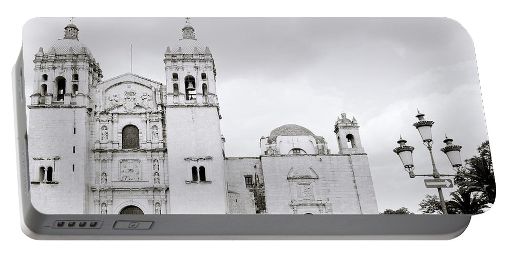 Mexico Portable Battery Charger featuring the photograph The Santo Domingo by Shaun Higson
