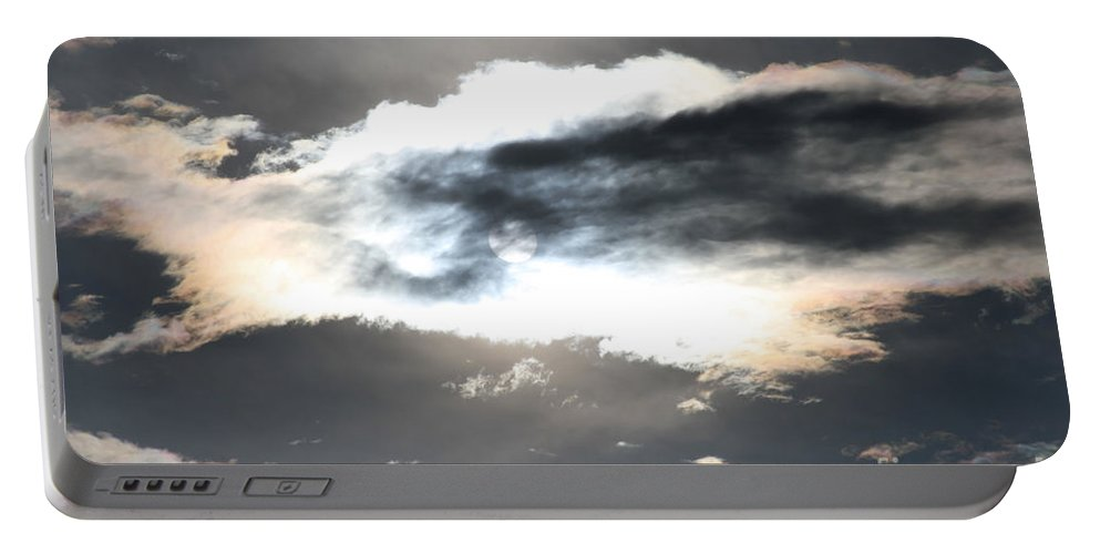 Sharon Mau Portable Battery Charger featuring the photograph The Secret Sky by Sharon Mau