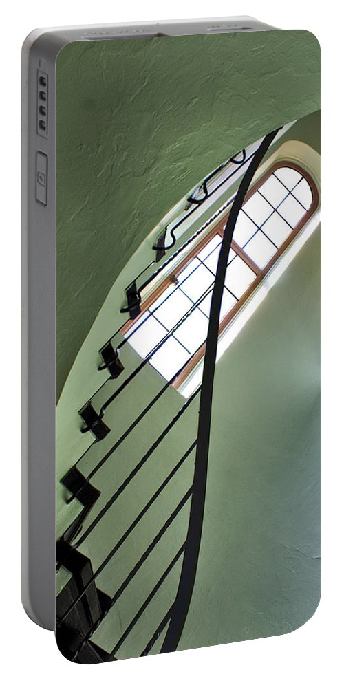 Staircases Portable Battery Charger featuring the photograph The Servants' Staircase by Nikolyn McDonald
