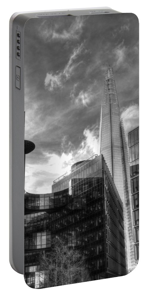 London Shard Portable Battery Charger featuring the photograph The Shard by Chris Day