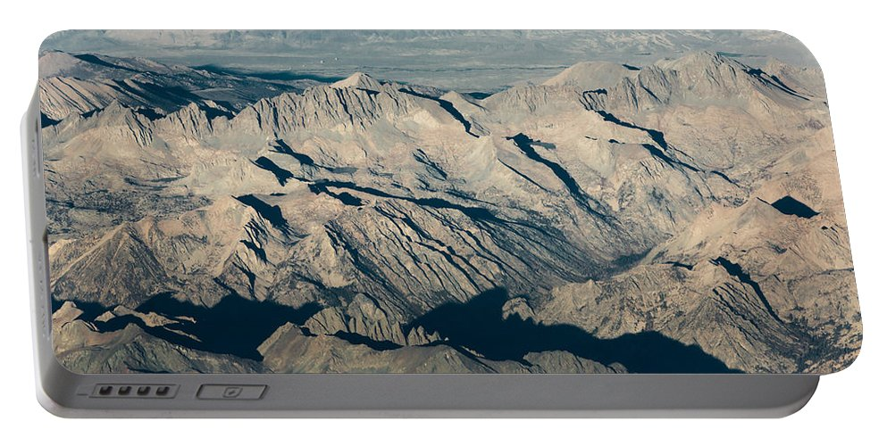 Sierra Portable Battery Charger featuring the photograph The Sierra Nevadas by John Daly