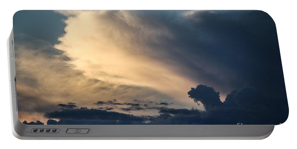 Sky Portable Battery Charger featuring the photograph The Sky Serpent by Jessica Shelton