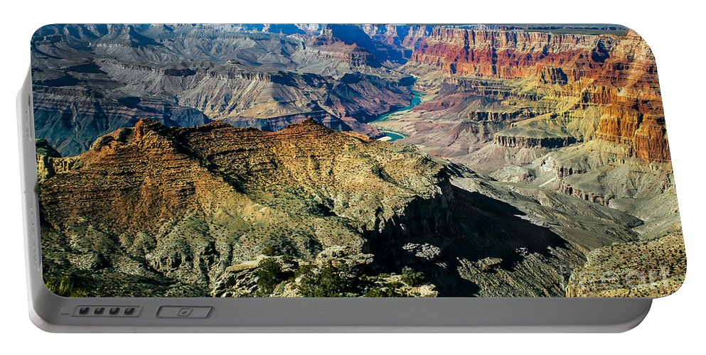 Grand Canyon Portable Battery Charger featuring the photograph The South Rim by Robert Bales
