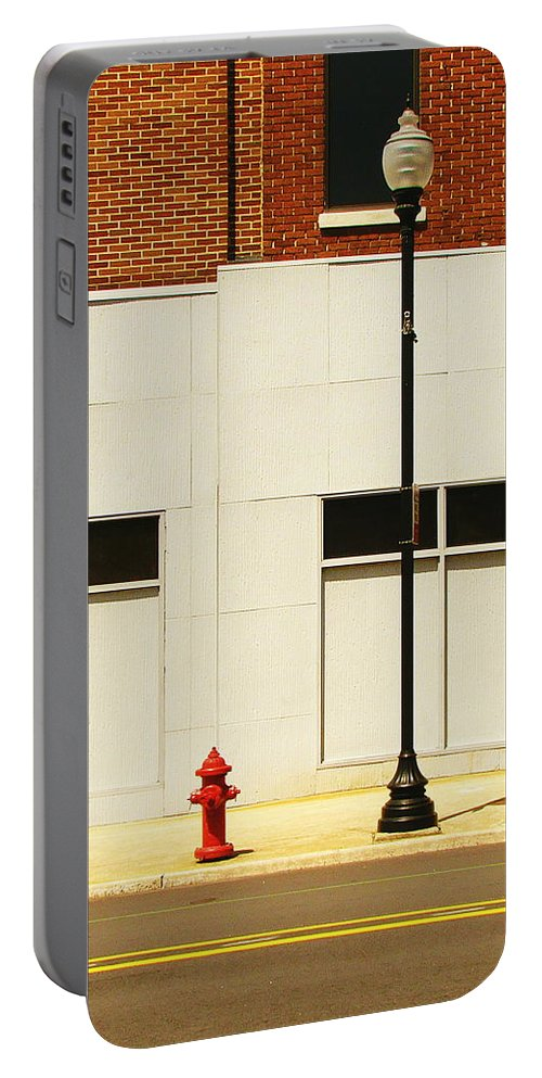 Fine Art Portable Battery Charger featuring the photograph The Tall And Short Of It by Rodney Lee Williams