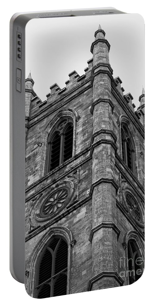 Montreal Portable Battery Charger featuring the photograph The Tower by Bianca Nadeau