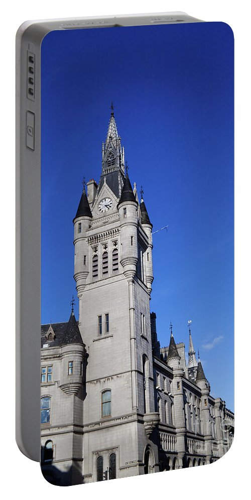 Architecture Portable Battery Charger featuring the photograph The Town House by Diane Macdonald