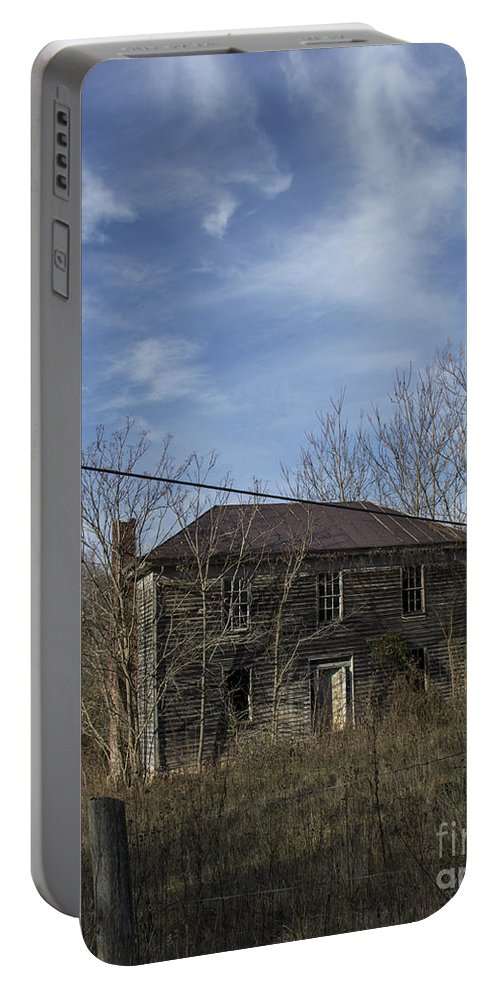 Abandoned Portable Battery Charger featuring the photograph The View by Teresa Mucha