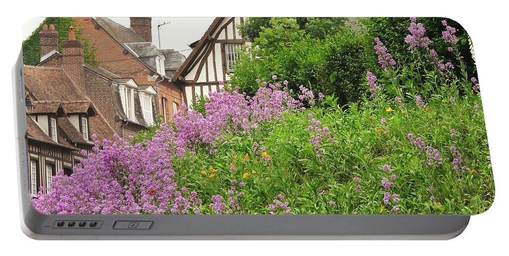 Quaint Portable Battery Charger featuring the photograph The Village by Mary Ellen Mueller Legault
