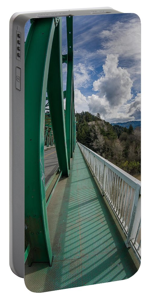 Bridge Walkway Portable Battery Charger featuring the photograph The Walkway by Greg Nyquist