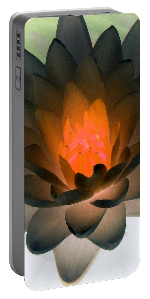 Water Lilies Portable Battery Charger featuring the photograph The Water Lilies Collection - Photopower 1036 by Pamela Critchlow