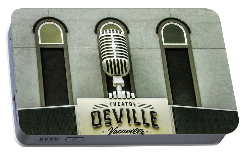 Deville Portable Battery Charger featuring the photograph Theatre Deville by Bill Gallagher