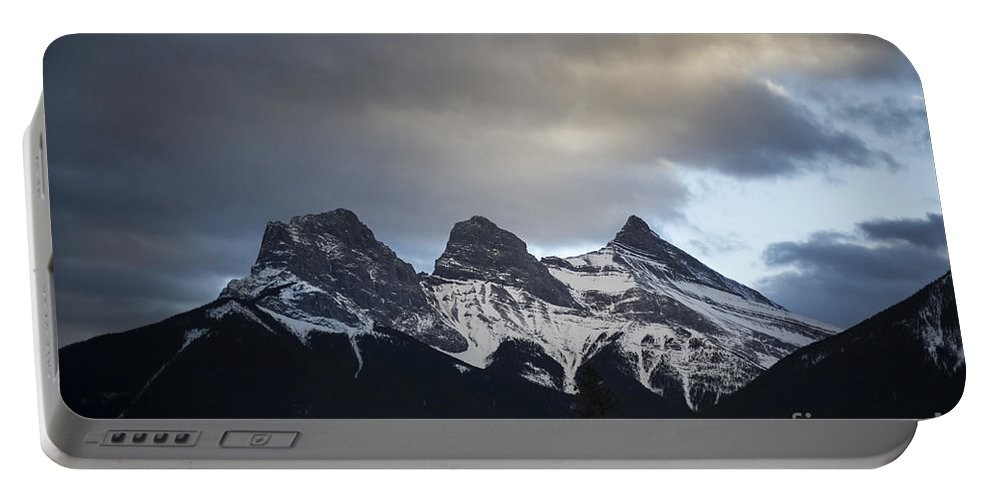 Three Sisters Portable Battery Charger featuring the photograph Three Sisters by Evelina Kremsdorf