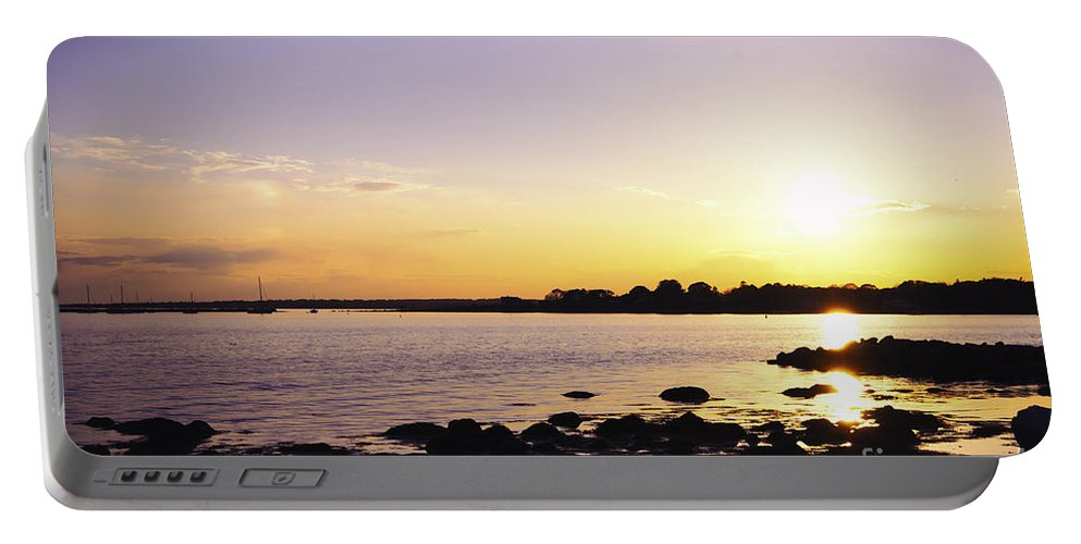 Borough Portable Battery Charger featuring the photograph Tidal Light by Joe Geraci