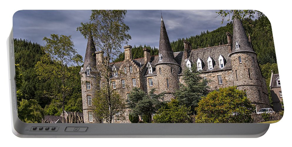 Tygh Portable Battery Charger featuring the photograph Tigh Mor Trossachs 01 by Antony McAulay