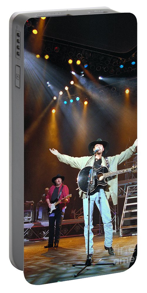 Tim Mcgraw Portable Battery Charger featuring the photograph Tim Mcgraw-35 by Timothy Bischoff