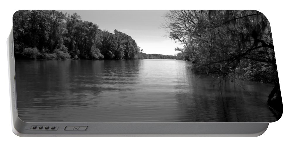 Boat Portable Battery Charger featuring the photograph Time Stands Still by Debra Forand