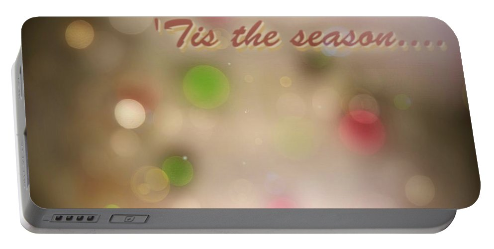 Matt Matekovic Portable Battery Charger featuring the photograph Tis The Season by Photographic Arts And Design Studio