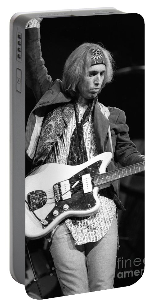 Singer Portable Battery Charger featuring the photograph Tom Petty And The Heartbreakers by Concert Photos