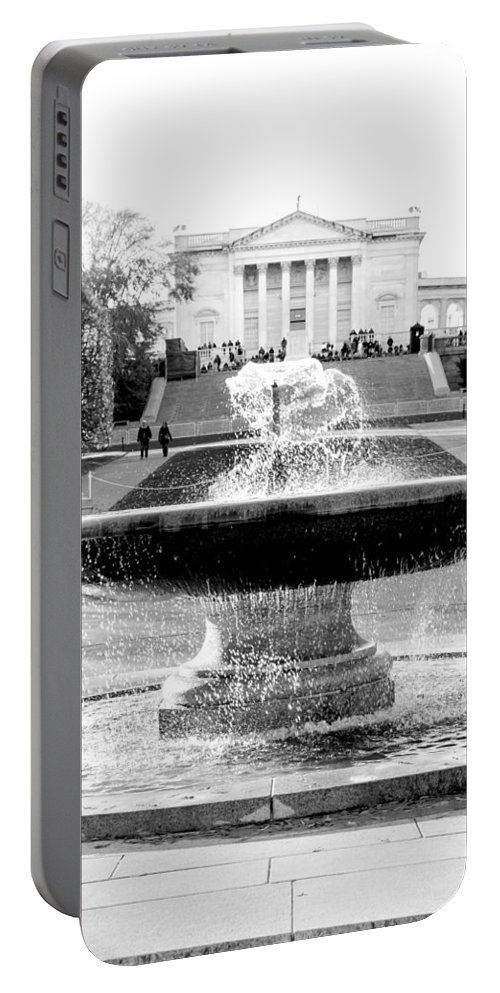 Arlington Cemetery Portable Battery Charger featuring the photograph Tomb Of The Unknown by Greg Fortier