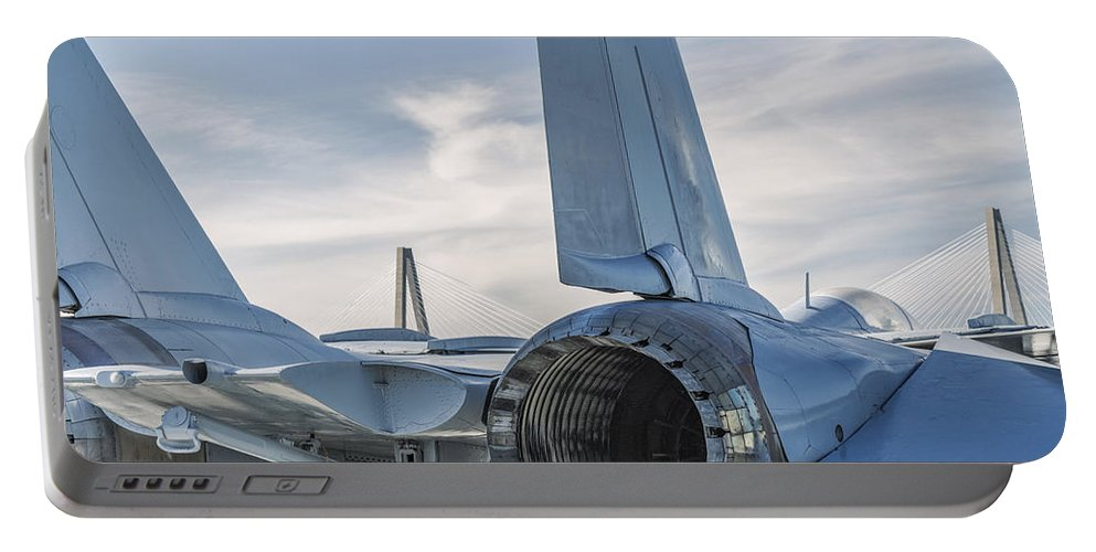 Tomcat Portable Battery Charger featuring the photograph Tomcat by Dustin LeFevre