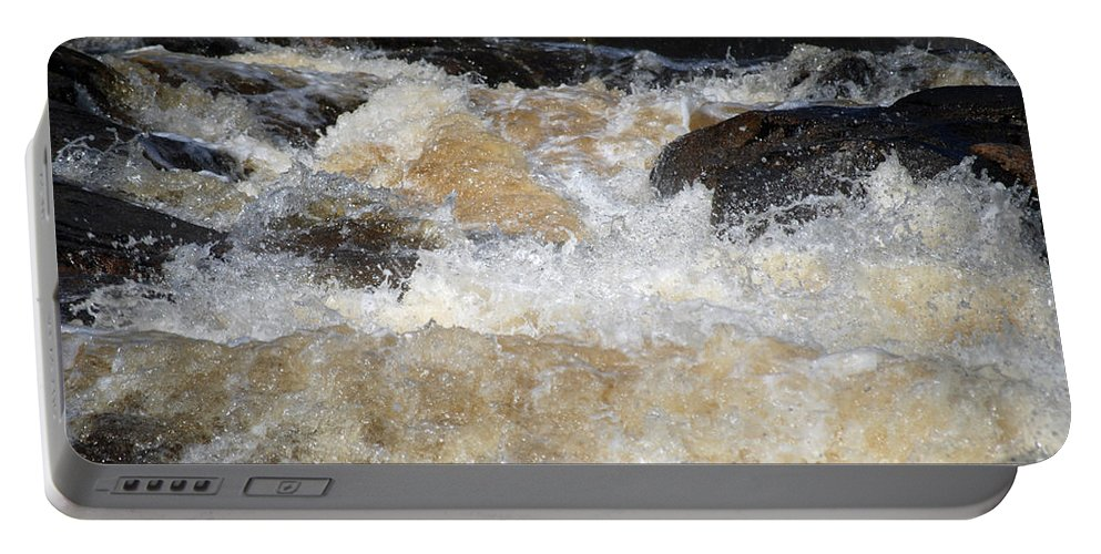 Water Portable Battery Charger featuring the photograph Too Much 983 by Terri Winkler
