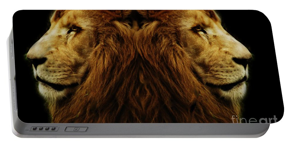 Alter Ego Portable Battery Charger featuring the photograph Too Strong by Ben Yassa