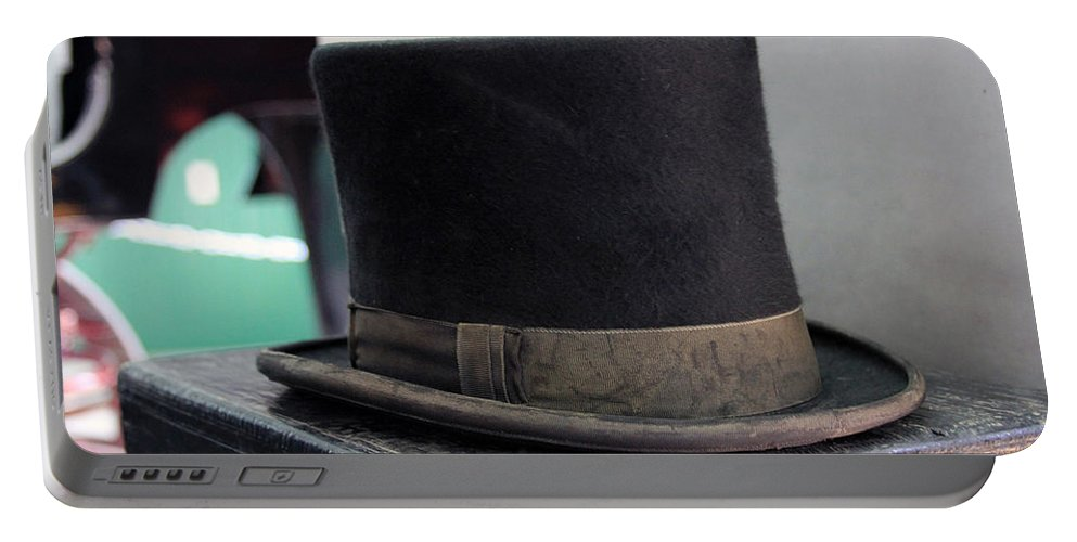 Top Hat Portable Battery Charger featuring the photograph Top Hat by Jackson Pearson