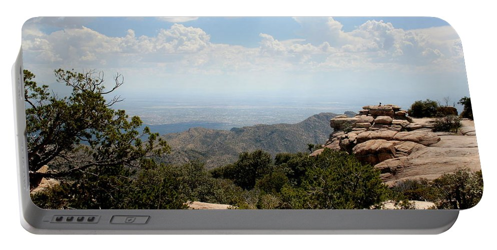 Arizona Portable Battery Charger featuring the photograph Top View by Darrell Clakley