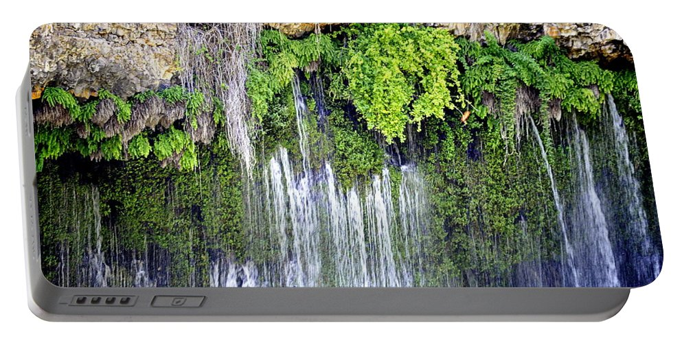 Scenic Portable Battery Charger featuring the photograph Topsy Turvy by AJ Schibig