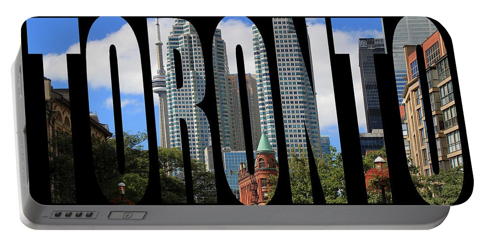 Toronto Portable Battery Charger featuring the photograph Toronto 1 by Andrew Fare
