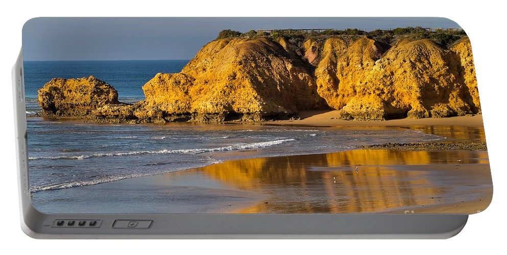 Beach Portable Battery Charger featuring the photograph Torquay Surf Beach Australia by Louise Heusinkveld