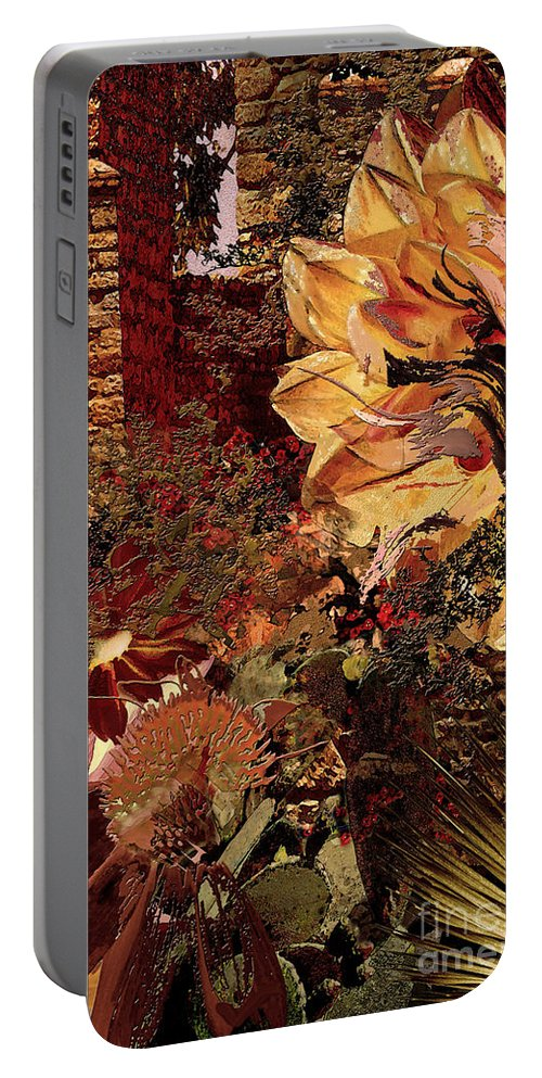 Torremolinos Portable Battery Charger featuring the digital art Torremolinos Right by Paul Gentille