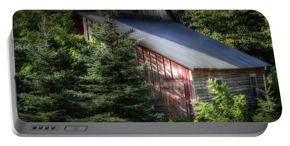 Agricultural Portable Battery Charger featuring the photograph Touched By The Sun by Joan Carroll