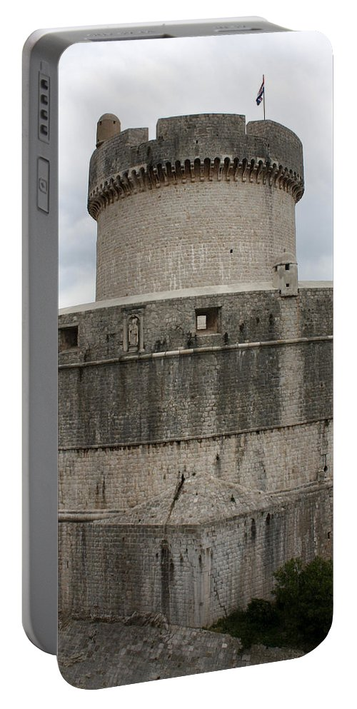 Tower Minceta Portable Battery Charger featuring the photograph Tower Minceta by David Nicholls