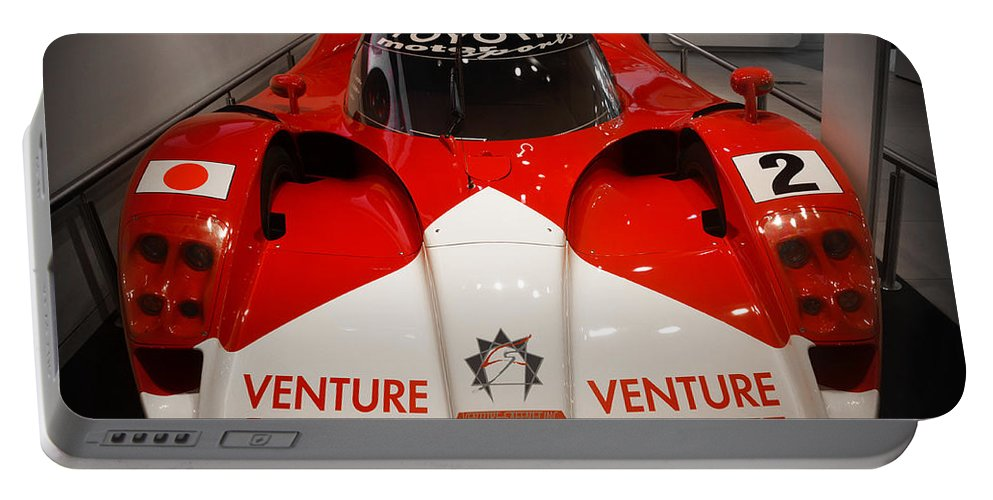 Toyota Portable Battery Charger featuring the photograph Toyota Gt1 Venture Safenet by RicardMN Photography