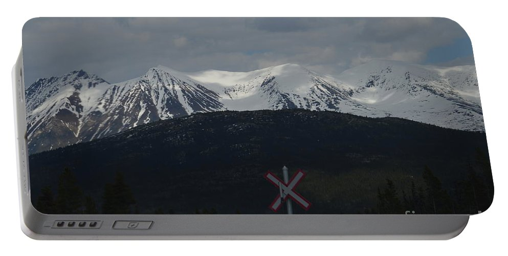 Trackless Portable Battery Charger featuring the photograph Trackless Wilderness by Brian Boyle