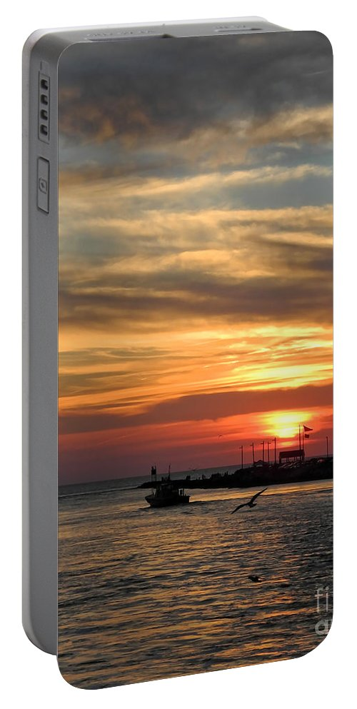 Portrait Portable Battery Charger featuring the photograph Tranquil by Sami Martin