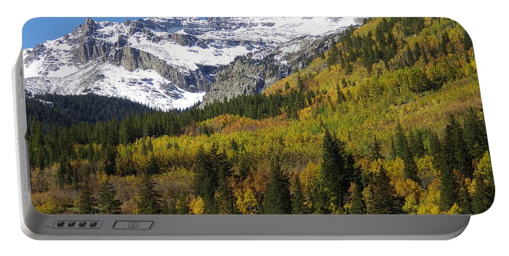 Aspens Portable Battery Charger featuring the photograph Tranquility by Tonya Hance