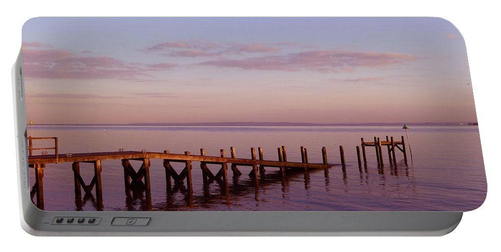 Tranquility Portable Battery Charger featuring the photograph Tranquility by Vicki Spindler