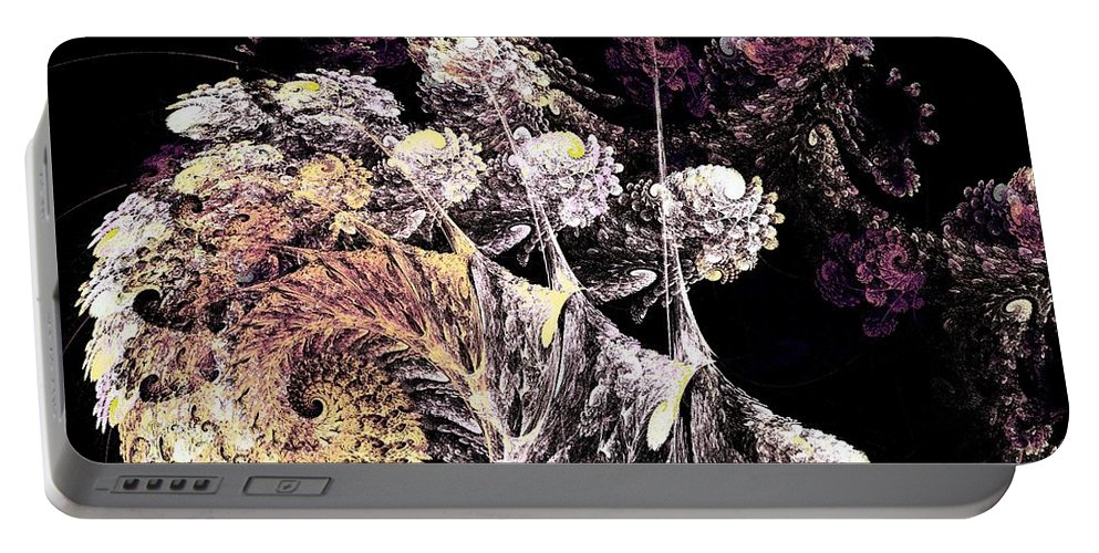Plant Portable Battery Charger featuring the digital art Tree Spirit by Anastasiya Malakhova