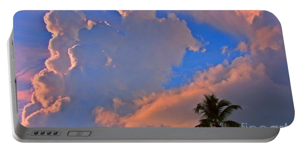 Tropical Art Portable Battery Charger featuring the photograph Tropical Delight by John Malone