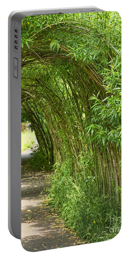 Wycoller Portable Battery Charger featuring the photograph Tunnel Vision by Gillian Singleton