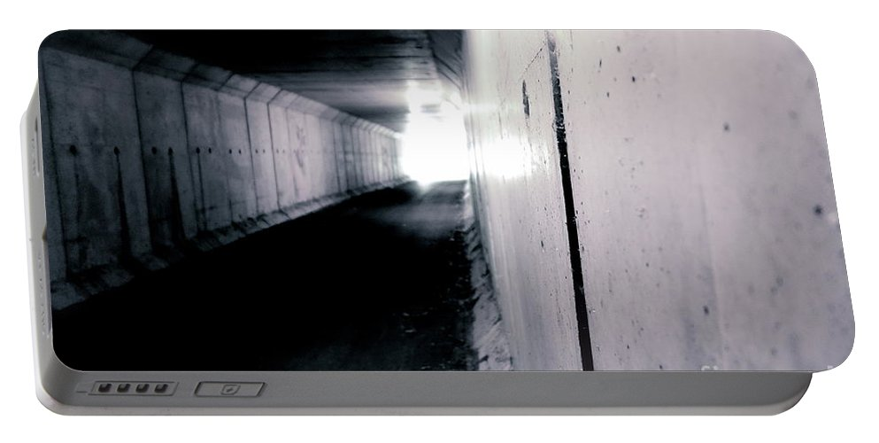Tunnel Portable Battery Charger featuring the photograph Tunnel Vision by Jacqueline Athmann