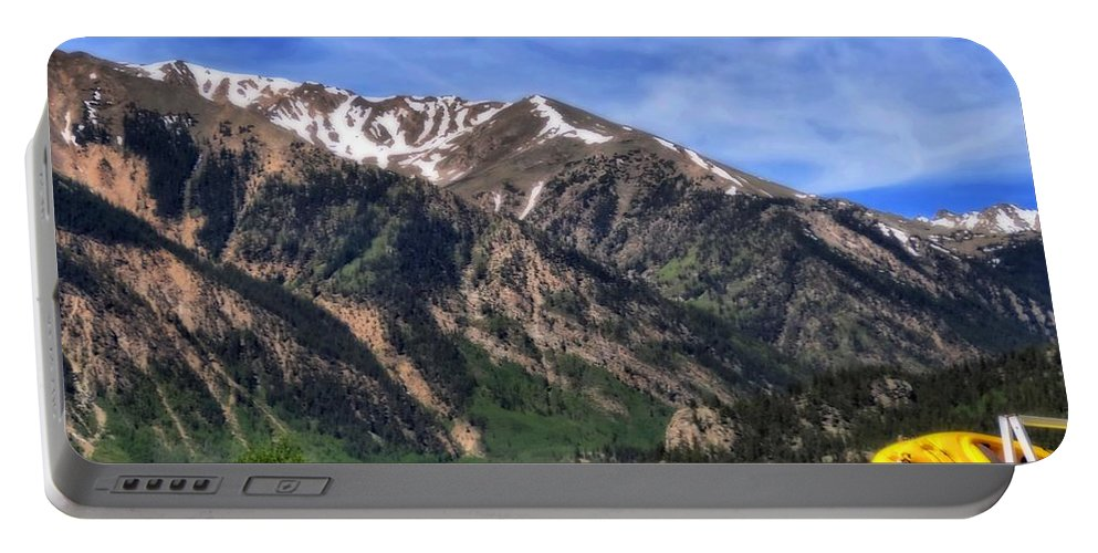 Twin Lakes Colorado Portable Battery Charger featuring the photograph Twin Lakes Colorado by Dan Sproul