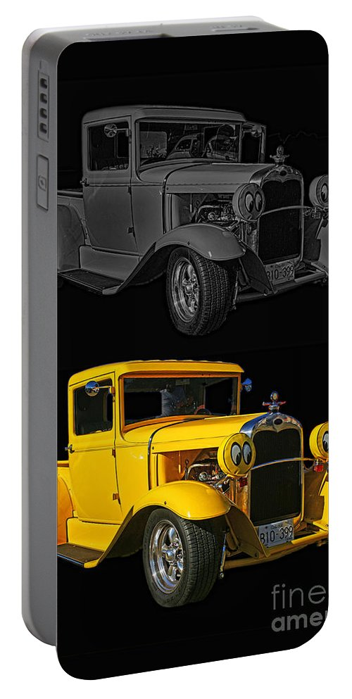 Cars Portable Battery Charger featuring the photograph Two Of A Kind by Randy Harris