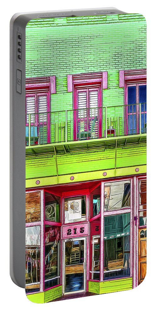 Art Portable Battery Charger featuring the photograph Two Seven Five by Maria Coulson